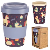 Unicorn Dreams Design Bambootique Eco Friendly Travel Cup/Mug
