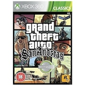 Grand Theft Auto San Andreas GTA Xbox 360 Game (Classics)