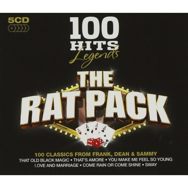 100 Hits Legends -The Rat Pack CD