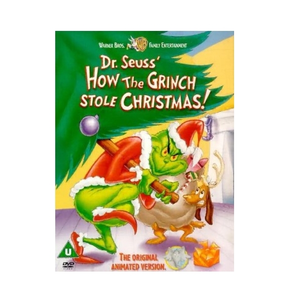 How The Grinch Stole Christmas Blu Ray.Dr Seuss How The Grinch Stole Christmas Dvd