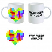 Tetris From Russia With Love Mug ZT