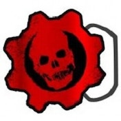 Gears of War Logo Belt Buckle
