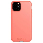 Tech21 Studio Colour Apple iPhone 11 Pro, Lightweight Thin Protective Hardshell Cover - Coral