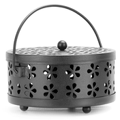 Metal Incense Holder | Insect Repellent | Home Fragrance | M&W Black New