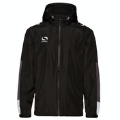 Sondico Venata Rain Jacket Adult Large Black/White/Grey