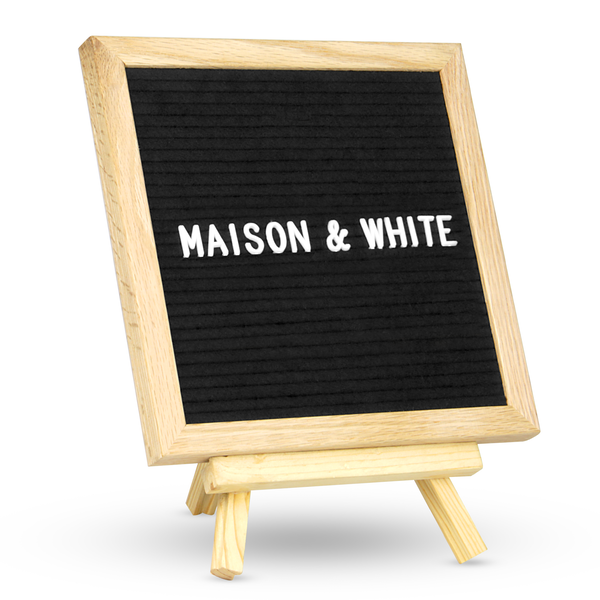 Felt Letter Board Message Sign | M&W 10x10in