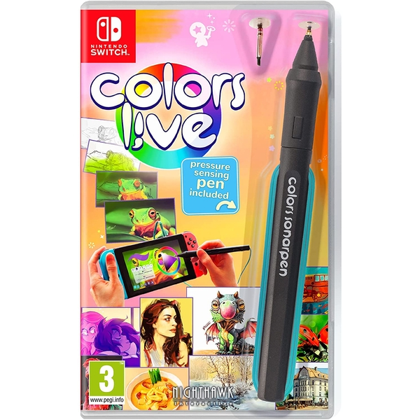 Colors Live Nintendo Switch Game
