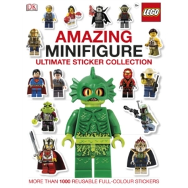 LEGO (R) Amazing Minifigure Ultimate Sticker Collection by DK (Paperback, 2013)