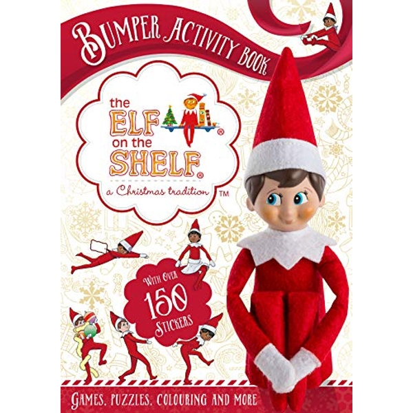 The Elf on the Shelf Bumper Activity Book Games, Puzzles, Colouring and More with over 150 stickers Paperback / softback 2018