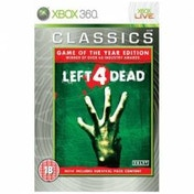 Left 4 Dead Game Of The Year Edition (Classics) GOTY Game Xbox 360