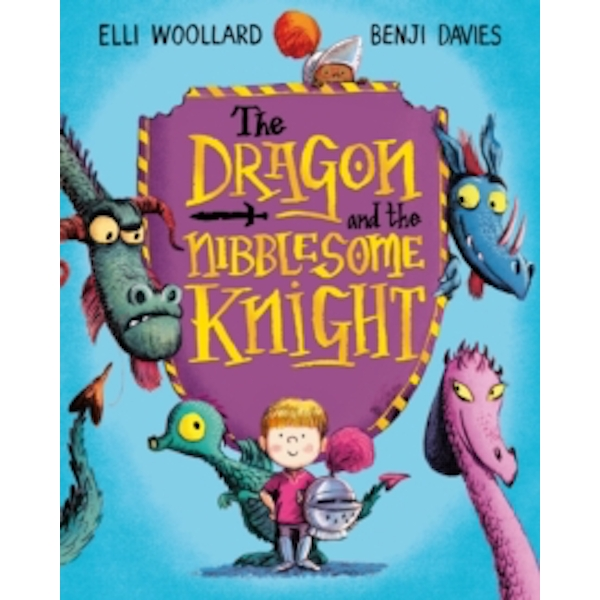 The Dragon and the Nibblesome Knight by Elli Woollard (Paperback, 2016)
