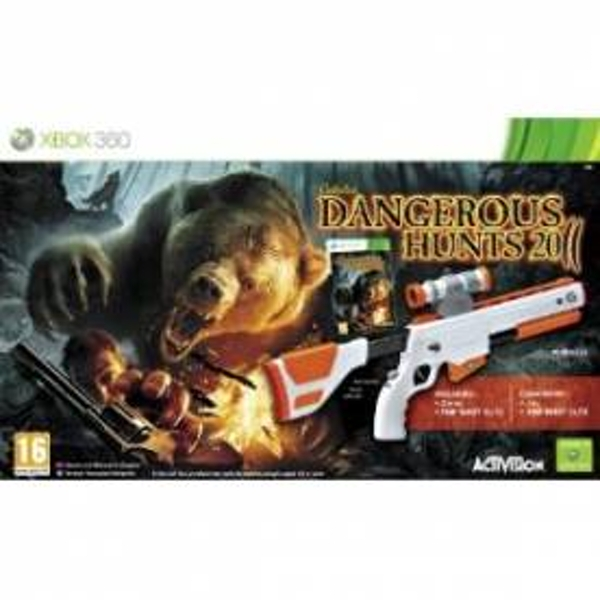 Cabelas Dangerous Hunts 2011 Top Shot Elite Bundle Xbox 360