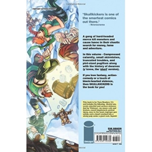 Skullkickers Volume 5 A Dozen Cousins and a Crumpled Crown Paperback - Image 2