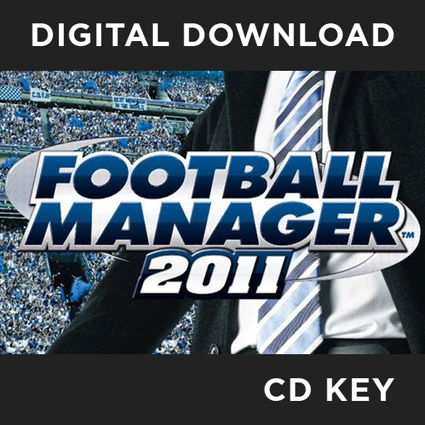 Football Manager 2011 PC CD Key Download for Steam
