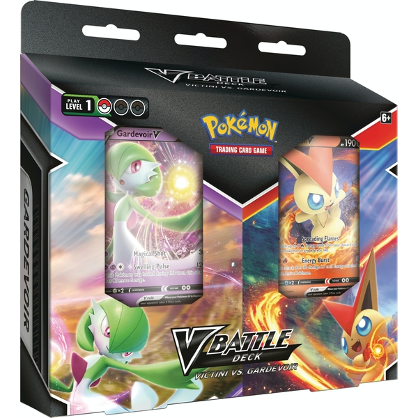 Pokemon TCG: Victini V vs Gardevoir V Battle Deck Bundle