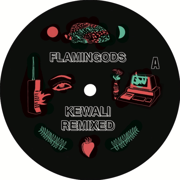 Flamingods ‎- Kewali Remixed EP Vinyl