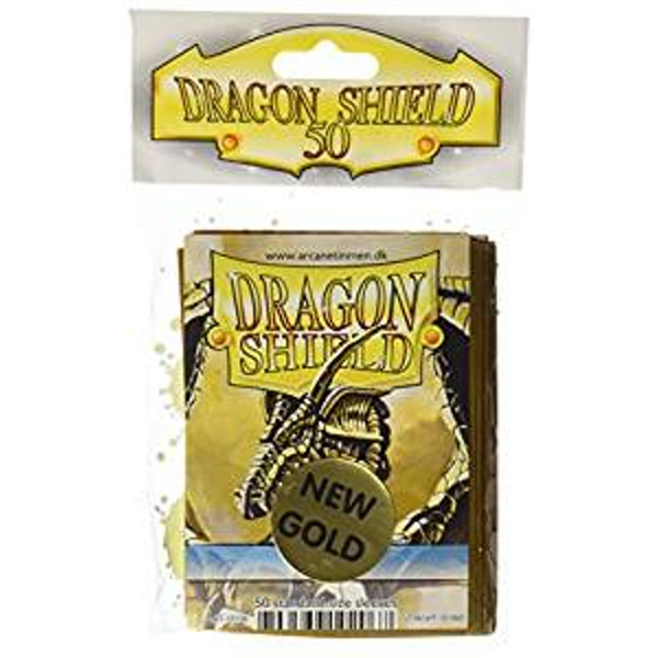 Dragon Shield Classic - Gold Sleeves (10 Packs)