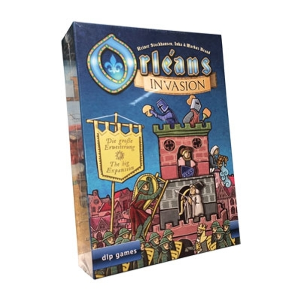 Orleans: Invasion Expansion Board Game
