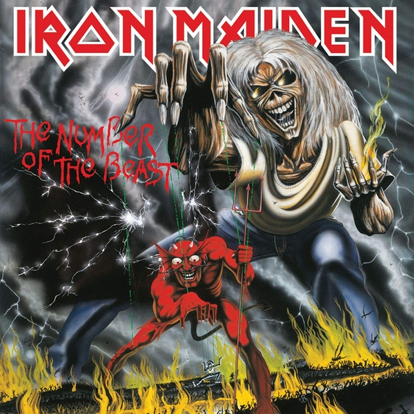 Iron Maiden - The Number Of The Beast Vinyl