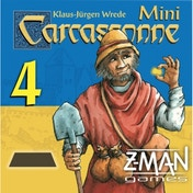 Carcassonne The Gold Mines Mini Expansion 4