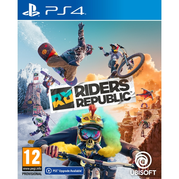 Riders Republic PS4 Game (Includes Bonus DLC)