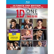 One Direction This Is Us Blu-ray + UV Copy