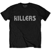 The Killers - Dots Logo Men's Large T-Shirt - Black