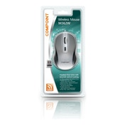 Dynamode Compoint M362W Wireless 1600dpi Optical Mouse with Nano Adapter (Grey/Black)