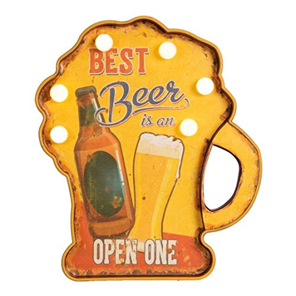 Brewmaster LED Marquee Light - Best Beer is an Open One