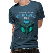 Rick And Morty - Meeseeks Box Men's Large T-Shirt - Blue
