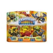 Prism Break, Eruptor, and Drobot (Skylanders Giants) Triple Character Figure Pack