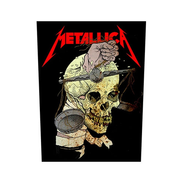 Metallica - Harvester of Sorrow Back Patch
