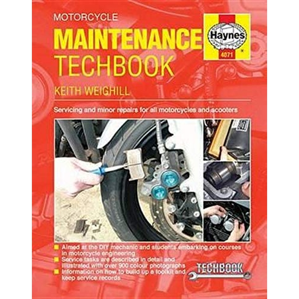 Motorcycle Maintenance Techbook by Keith Weighill (Paperback, 2015)