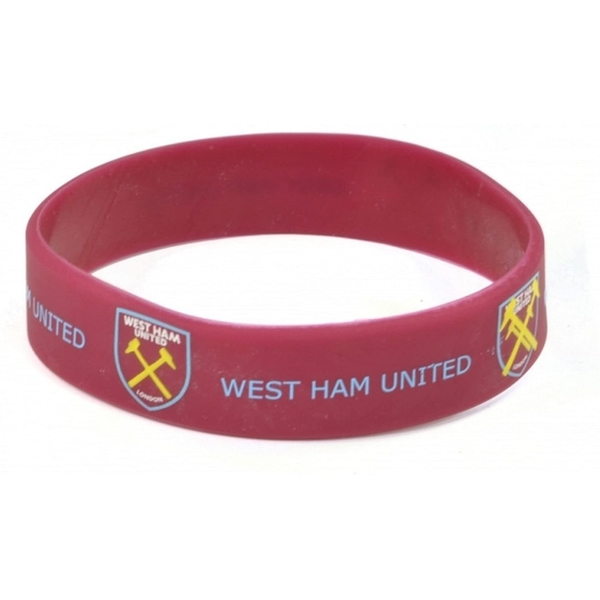 West Ham United FC Silicone Wristband