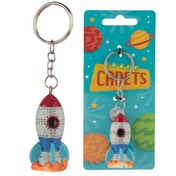 Collectable Space Rocket Keyring