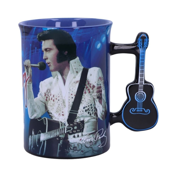 Elvis The King of Rock and Roll Mug