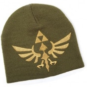 Nintendo Legend of Zelda Skyward Sword Golden Royal Crest Woven Beanie Hat