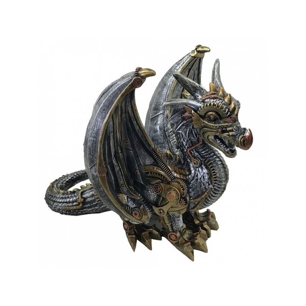 Killing Machine Steampunk Dragon Statue
