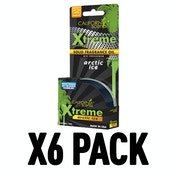 Ice (Pack Of 6) California Scents Xtreme Cannister