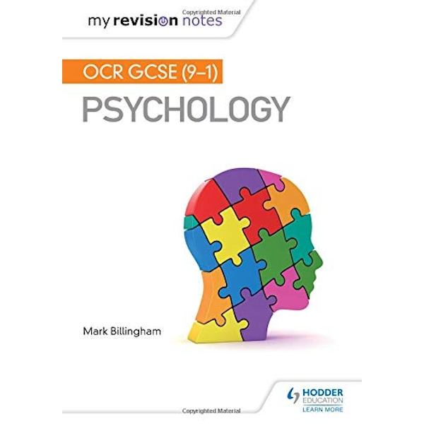 My Revision Notes: OCR GCSE (9-1) Psychology  Paperback / softback 2018
