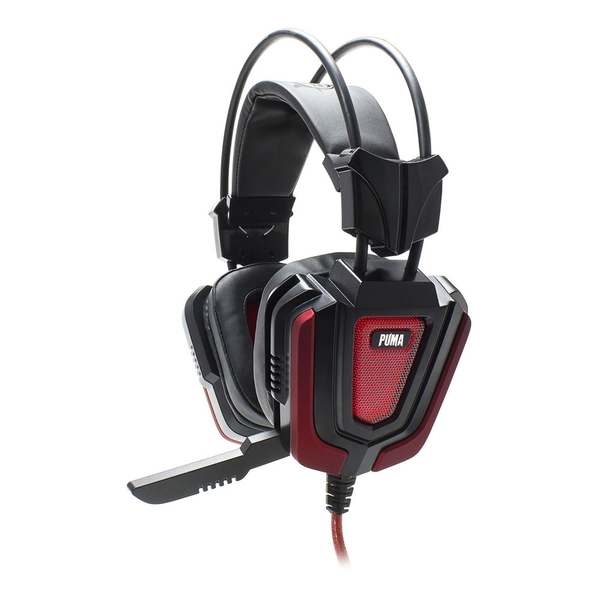 White Shark Gaming Gh-1843 Puma Stereo Gaming Headset with Microphone and Multicolour LED Lighting
