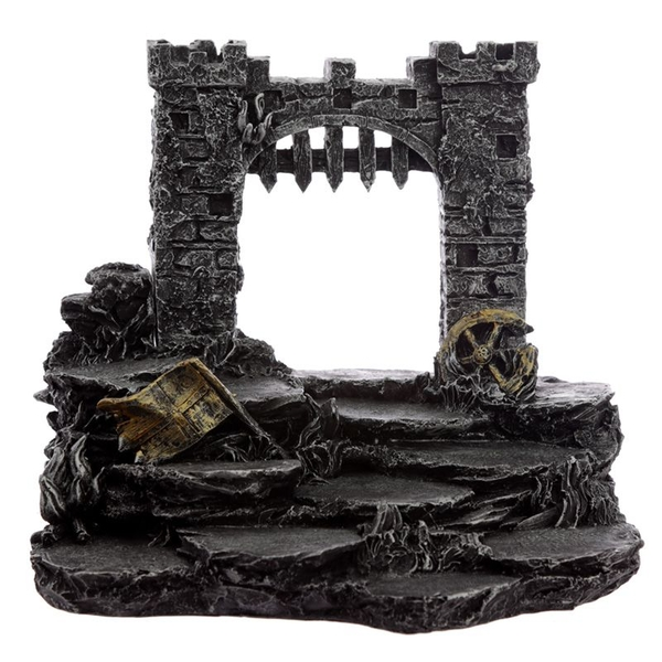 Medieval Knight Castle Battle World Figures Display Stand