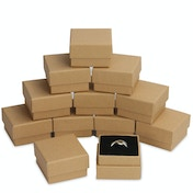 Kraft Boxes - 24 Pack | Pukkr (Ring Size)