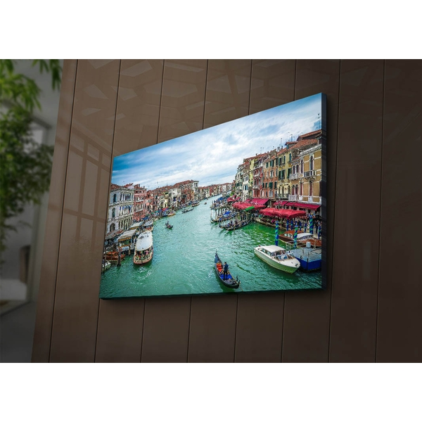 4570?ACT-68 Multicolor Decorative Led Lighted Canvas Painting