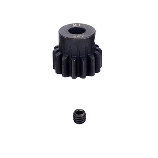Fastrax M1 14T Steel Pinion Gear (5Mm) Mod1