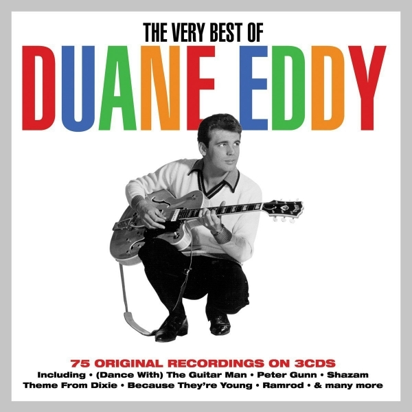 Duane Eddy - The Very Best Of Duane Eddy 3CD Box Set CD