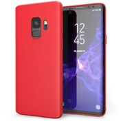 Samsung Galaxy S9 Matte Gel - Red