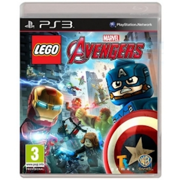 Lego Marvel Avengers PS3 Game
