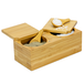 Bamboo Spice Salt & Pepper Box (with 2 spoons) | M&W - Image 3