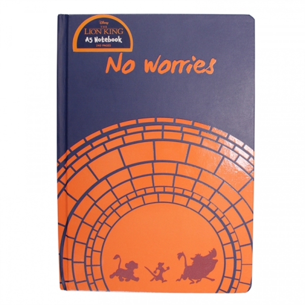 The Lion King - No Worries A5 Notebook